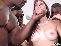 birthday group sex with sumptuous Mom Alana Cruise