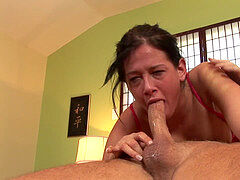 Tory Lane gag and drool - extreme blow
