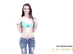 18-19 y.o. Chick NOT HAPPY AT PHOTOSHOOT CASTING AUDITION