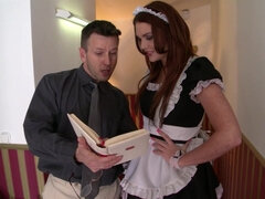 Emma Leigh In Maid Fornicateed By Her Boss