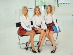 Schoolgirls in Detention
