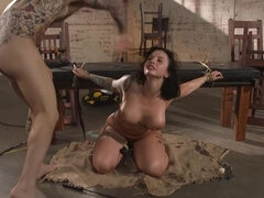 Idle Hands: Ivy LeBelle gets tied up and fucked by Small Hands