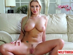 British MILF mating with ejaculate