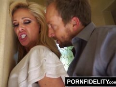 PORNFIDELITY Drunk Sexually available mom Cherie DeVille Creampied and Showered in Cum