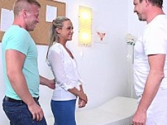 Blonde fucked as per doctor's orders