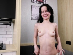 Sweetie Plum undress and shows pussy