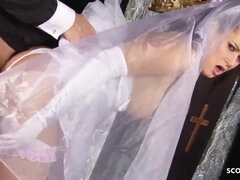 SCOUT69 - Inborn Maid Cindy get last Shag with Pastor before Wedding