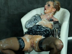 Double-Teaming Her Cum Covered Self