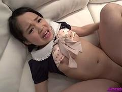 Risa Oomomo wants to quench master with POV