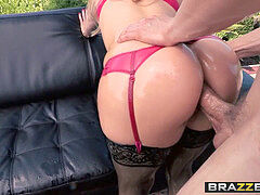Brazzers - hefty humid arses - Ashley Fires Erik Everhard Mick B