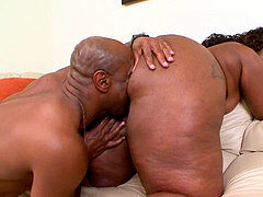 yam-sized ebony ass Nailed