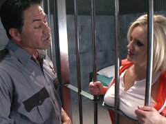 Zoey Holiday is a hot prisoner
