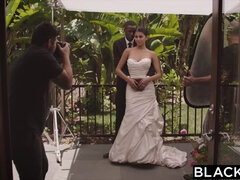 BLACKED Sophia Leone Wedding Fuck with Jason Brown