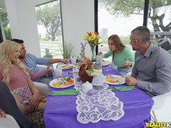 Easter Dinner At Stepmoms