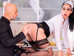 Ginebra Bellucci, Horny Maid Eager to Impress
