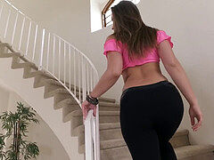 TwistysHard - Dani Daniels starring at Tell Me More pink twunk