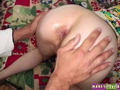 Alexa Novas rectal drilled by step dad after blowjob