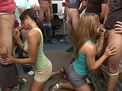College in cock sucking party