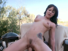 POV close up blowjob & fuck & cum swallow with Katie St Ives