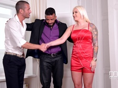 Bang Of The Gang - Blonde Double Penetrated During Group Sex