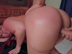 Maddy O'Reilly get her huge ass filled to the brim with big dick