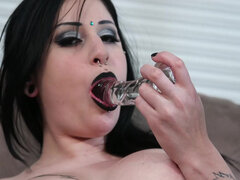 Ophelia Rain get stuffed her holes at the same time on cam