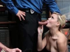 Shoplifting exgf Madison gets what she deserves