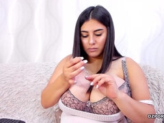 Romania huge boobs babe - Big tits