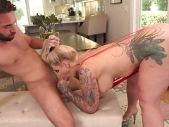 Rimming ass fingering and besides blowjob