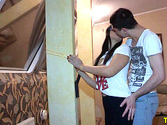 cuckold russian girlfriend screwed by boyfriends pal