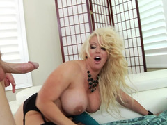 Alura Jenson is here for rectal sex with a tall man