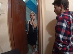 Russian girl wanted to borrow money but was assfucked