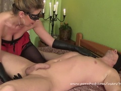 Amateur Couple Femdom Sex.(69, Prostate Massage, Face Sitting, Huge Squirt)