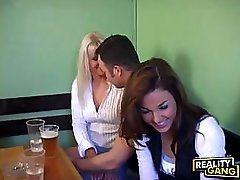 Horny Babes In Public Place