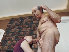 Evening Orgy with Grandfather and Teenage Supah Steamy and Super-Sexy