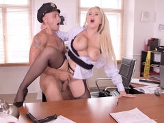Angel Wicky - Busty police officer Angel Wicky demands a hardcore pussy and ass fucking - angel wicky
