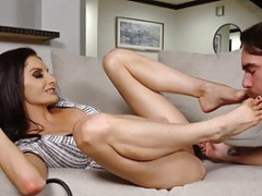 LoveHerFeet - Sexy Mom i`d like to fuck With A Tight Snatch Gets down and dirty Young Stud