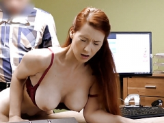 LOAN4K. Terrific boobs for credit manager