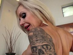 Talented pornography diva makes guy moan at elementary using hands and mouth