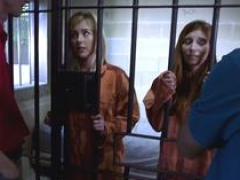 Inmate stepdaughter get down and dirty