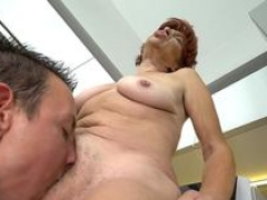 Honey pot licked old lady