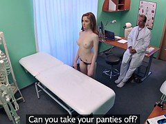 FakeHospital Tiny hot Russian teen gets twat licked