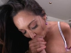 Premier MILF brunette model Ava Addams gets her bung hole fucked