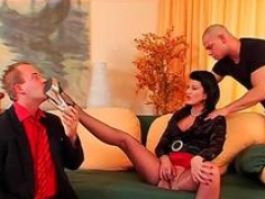 hot maid gets butt spanked feature video 1