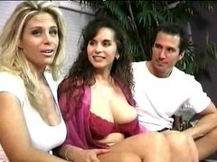 Classic Milfs threesome grown-up grown-up porno granny grown-up cumshots cumshot