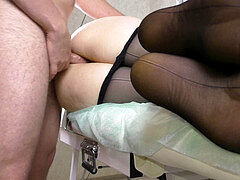 Amateur Teen brilliant arse Give shag Her Pussy Pantyhose