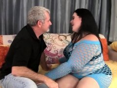 Pretty Bbw Becki Butterfly gets her snatch fucked nice