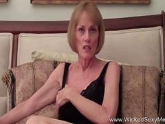 Granny is keen to get banged by this lad with a colossal member in a lot of positions in pov