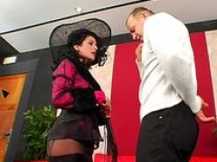 gal fucked hard with strap on clip segment 1