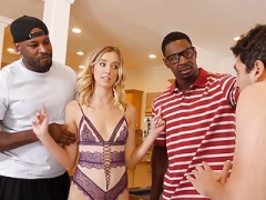 Haley Reed Interracial 3-way - Cuckold Sessions